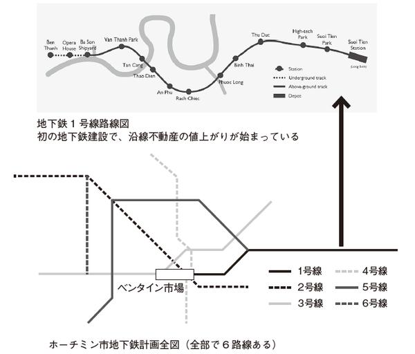 地下鉄計画全図